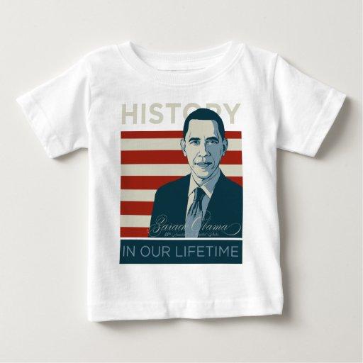 """Presidente Obama """"historia en nuestro curso de la T Shirt"""