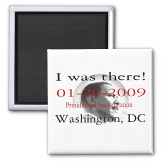 Presidente Obama Historic Inauguration Imanes Para Frigoríficos