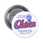 Presidente Obama Inauguration Button Pins