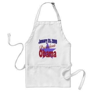 Presidente Obama Inauguration Delantales