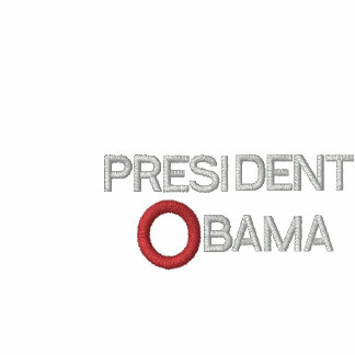 PRESIDENTE OBAMA INAUGURATION EMBROIDERED T-SHIRT