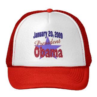 Presidente Obama Inauguration Gorros Bordados