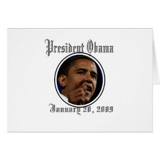 Presidente Obama Inauguration Keepsakes Felicitaciones