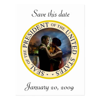 Presidente Obama Inauguration Keepsakes Postal
