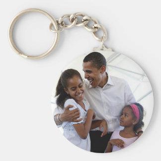 Presidente Obama Inauguration Template para Llavero Redondo Tipo Pin