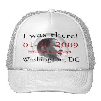 Presidente Obama Inauguration Washigton DC Gorro De Camionero
