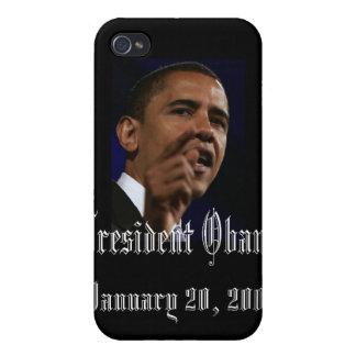 Presidente Obama iPhone 4/4S Fundas