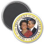 "Presidente Obama Keepsake Large 3"" Iman De Frigorífico"