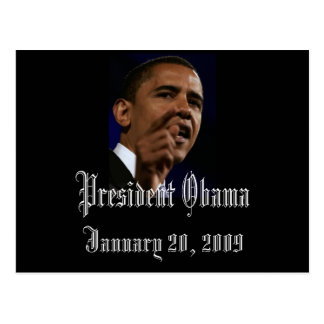 Presidente Obama Keepsake Postal