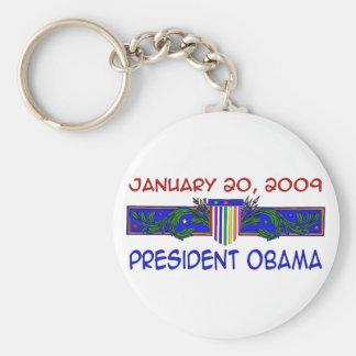 Presidente Obama Llaveros Personalizados