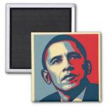 Presidente Obama Magnet Imán Cuadrado