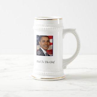 Presidente Obama Mug Jarra De Cerveza