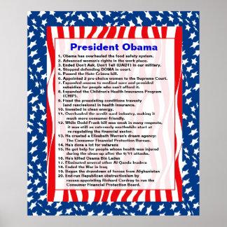Presidente Obama Impresiones