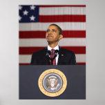 Presidente Obama Painting -- Frontera Posters