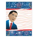 Presidente Obama Postal