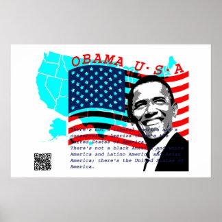 Presidente Obama Póster