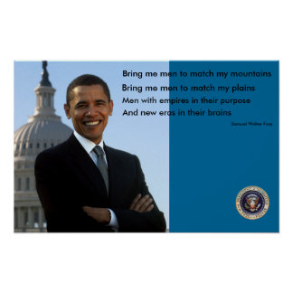 Presidente Obama Poster - modificado para