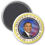 Presidente Obama Presidential Inauguration Large 3 Imán Para Frigorífico