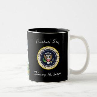 Presidente Obama - primera taza del recuerdo de 10