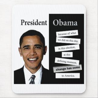 Presidente Obama Quote Tapetes De Ratón