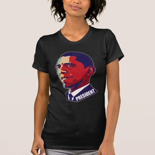 Presidente Obama T-Shirt Playera