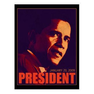 Presidente Obama Tarjeta Postal