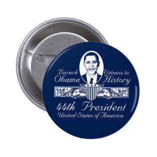 Presidente Obama Victory Button Pin Redondo De 2 Pulgadas