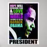 Presidente Obama VIntage Poster