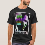 Presidente Obama Vintage T-Shirt Playera