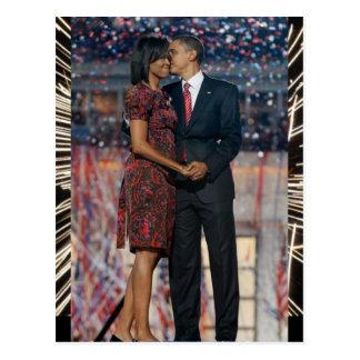 Presidente Obama y recuerdo de Michelle Postal