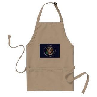 Presidente Of The los Estados Unidos de América, u Delantal