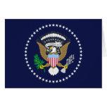 Presidente Of The los Estados Unidos de América, u Tarjeta