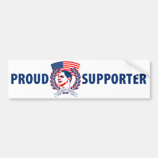 Presidente orgulloso Obama Supporter Pegatina Para Auto