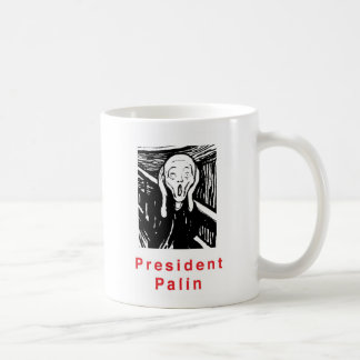 Presidente Palin Taza Básica Blanca