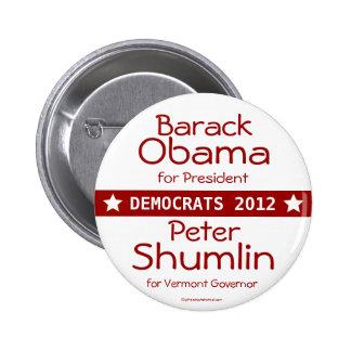 Presidente Peter Shumlin Vermont Gover de Barack O Pins