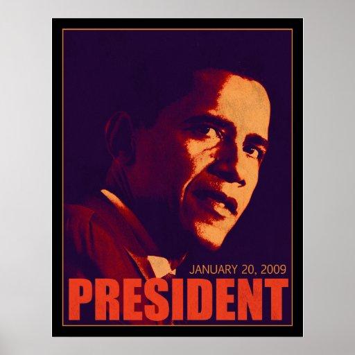 Presidente Poster de Obama