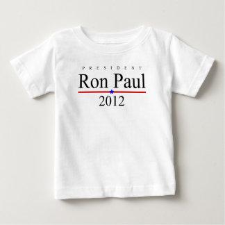 Presidente Ron Paul 2012 Playera De Bebé