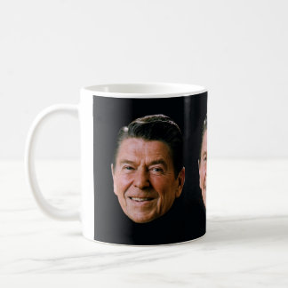 Presidente Ronald Reagan 'Portrait 1981 Taza
