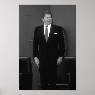 Presidente Ronald Reagan Póster