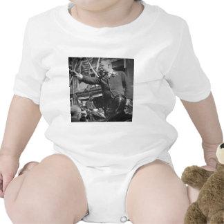 Presidente Roosevelt Pointing Vintage Stereoview Trajes De Bebé