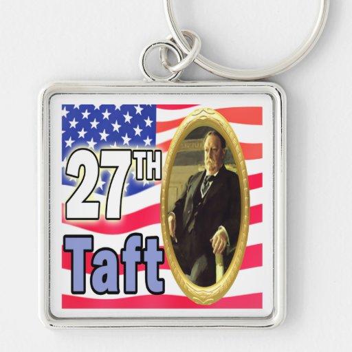 Presidente Taft Llavero Personalizado