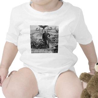 Presidente Theodore Roosevelt en Wyoming Trajes De Bebé
