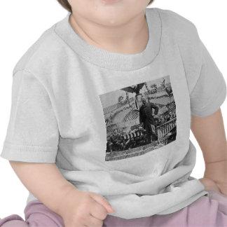 Presidente Theodore Roosevelt en Wyoming Camisetas