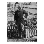 Presidente Theodore Roosevelt en Wyoming Tarjeta Postal