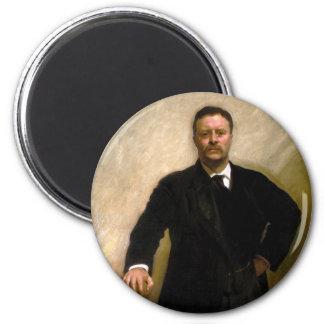 Presidente Theodore Roosevelt John Singer Sargent Imán Redondo 5 Cm