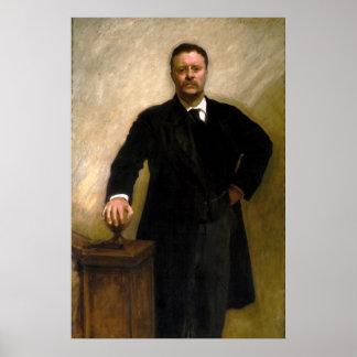 Presidente Theodore Roosevelt John Singer Sargent Impresiones