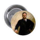 Presidente Theodore Roosevelt John Singer Sargent Pin