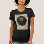 Presidente Theodore Roosevelt por la litografía de Camiseta