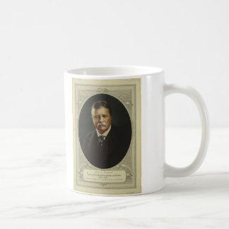 Presidente Theodore Roosevelt por la litografía de Taza