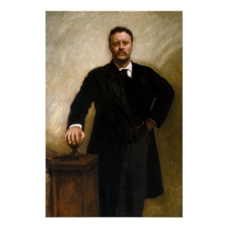 Presidente Theodore Roosevelt Póster